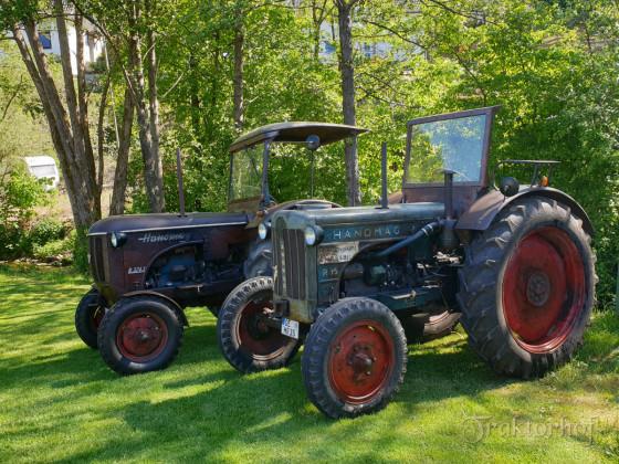 Hanomag R35A und Hanomag R324S
