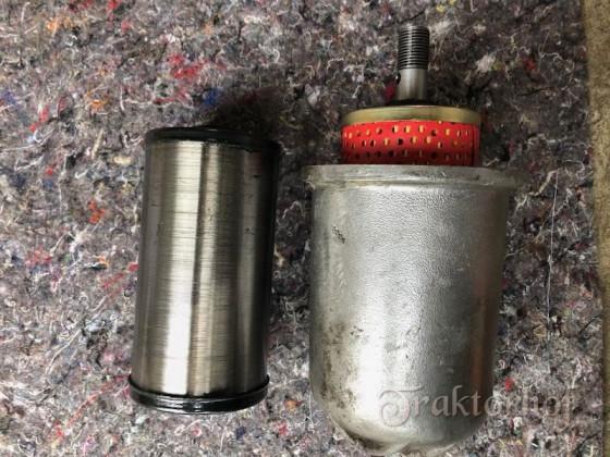 Ölfilterfiterumbau Eicher ED1