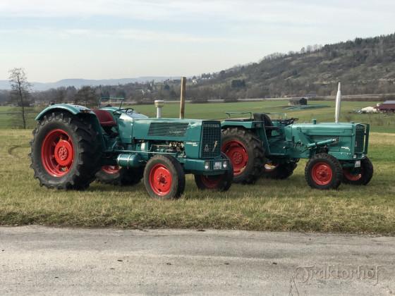 Hanomag Robust 901-S und Granit 501E-S