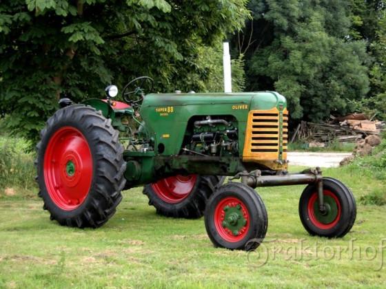 Oliver Super 88 Diesel, Bj. 1956