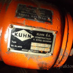 Kuhn Heuwender GF 440M Typenschild