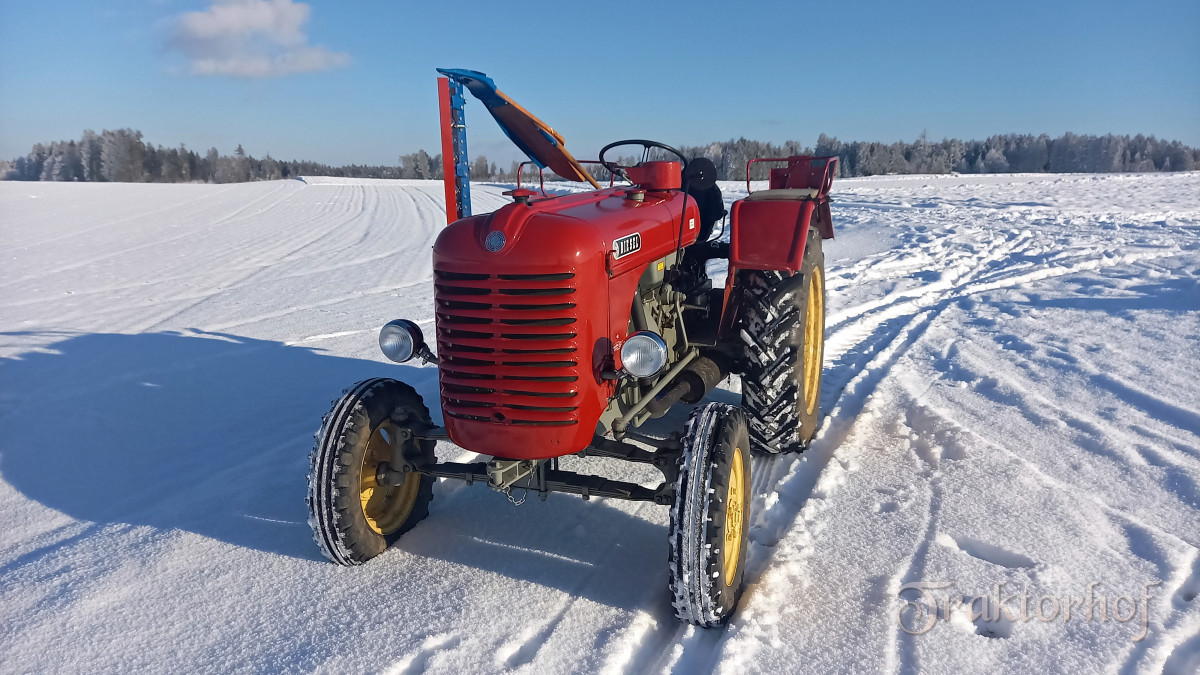 Im Schnee toben mit meinem Steyr