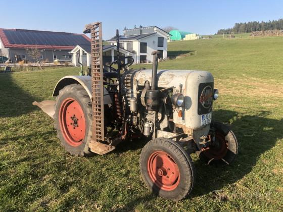 Eicher ED16/II mit Landsberg Pflug