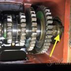 Ringmutter Hurth-Getriebe