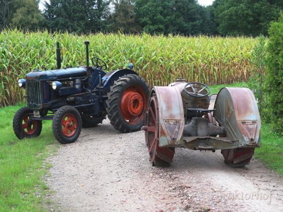 Fordson E27N, Bj. 1946 und Fordson N, Bj. 1931