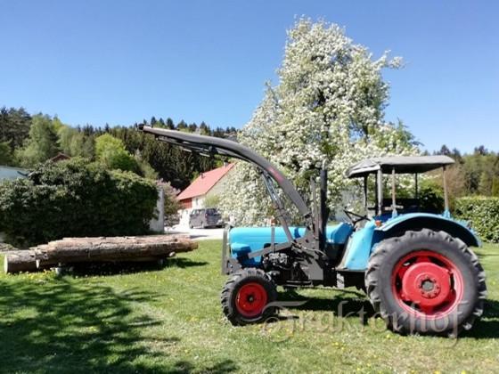 Eicher 3351 vor Birnbaum
