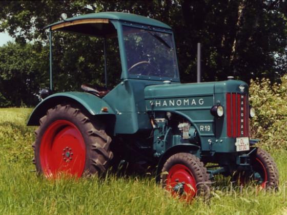 Hanomag R19, Bj. 1955