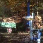 Binderberger Spalter beim Holz spalten